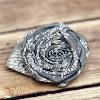 Simple Fabric Flower Tutorial