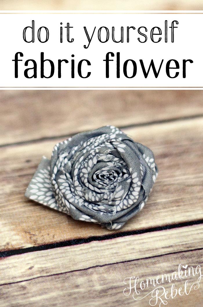 FabricFlowerPin