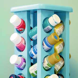 Craft Paint Organizer