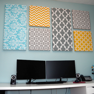 Make Your Own Fabric Panels