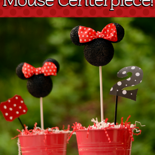 DIY Minnie Mouse Party Decor