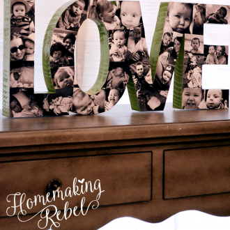 Make Your Own Wood Photo Block