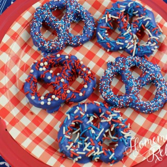 4th Of July Patriotic Pretzels