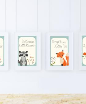 Free Woodland Creatures Printables