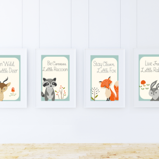 Free Woodland Creatures Printables